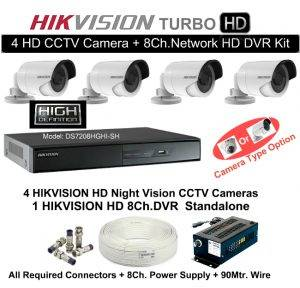 harga cctv hikvision camera-kit